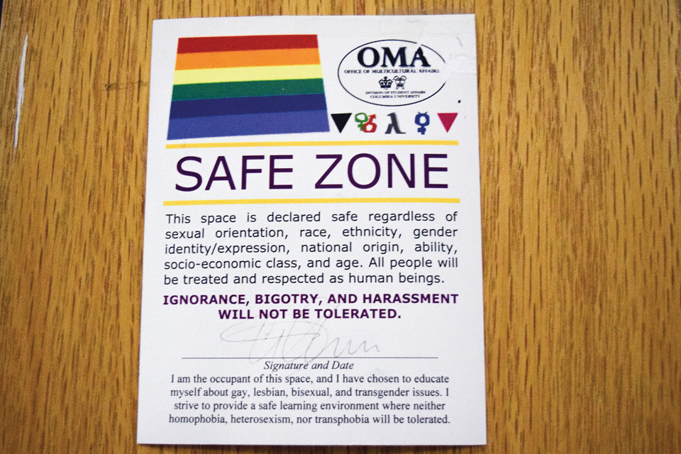 Creating Safe Space For Students After >> Students Seek To Create Safe Spaces That Challenge Not Coddle