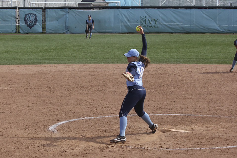 Softball loses three of four against Penn - Columbia Daily