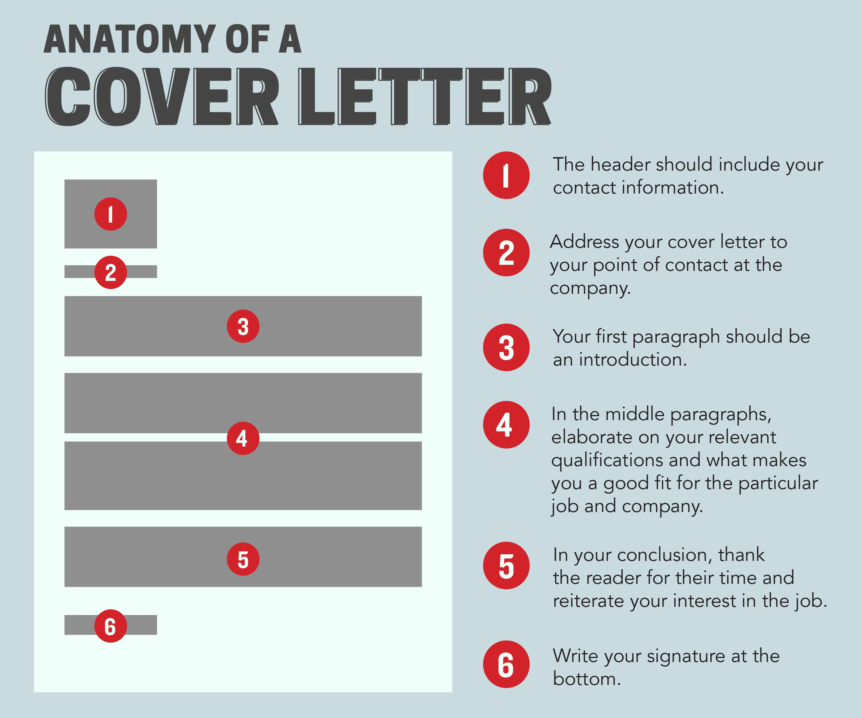 Career Chasing How To Write A Cover Letter As A Student  Columbia