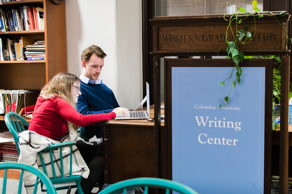 columbia writing center To make an appointment with a fellow please visit the writing center schedule you will need to register and make an account on our system.