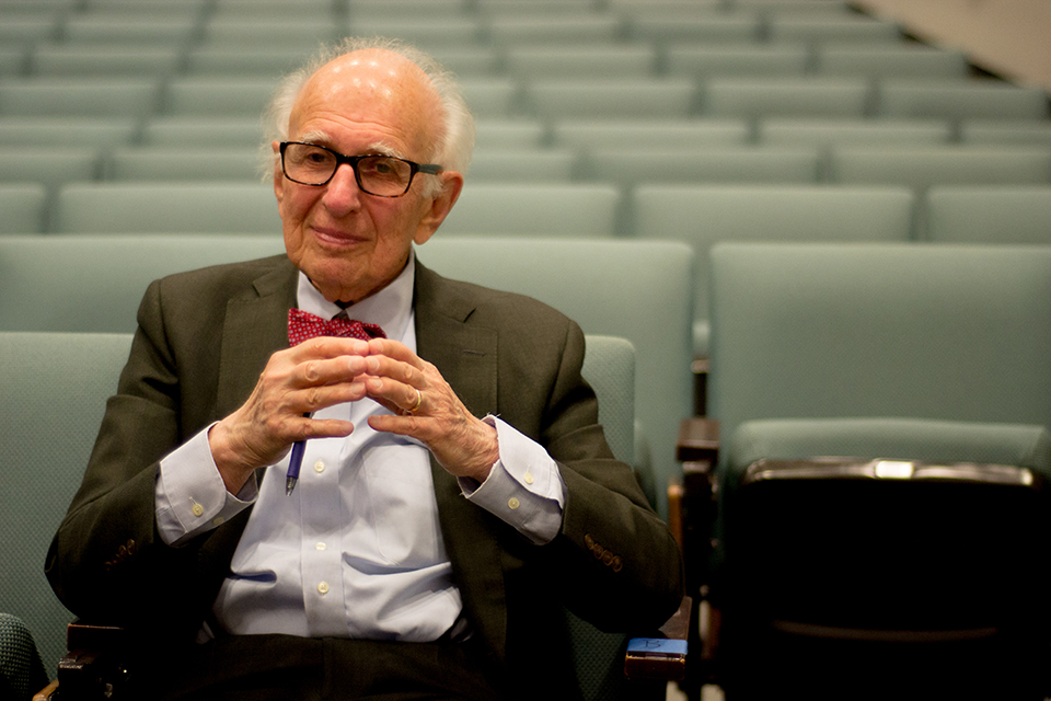 Nobel Laureate Eric Kandel discusses intersection of