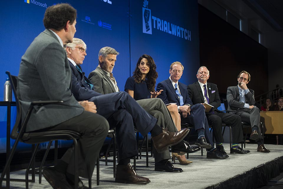 Clooney Foundation unveils human rights monitoring