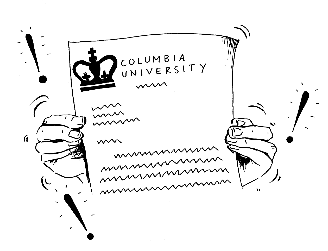 Columbia Acceptance Letter.Reread Your Acceptance Letter Columbia Daily Spectator