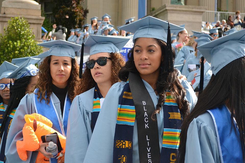 Barnard Graduation 2020.Black Graduation Will Be Rescheduled Due To Conflict With