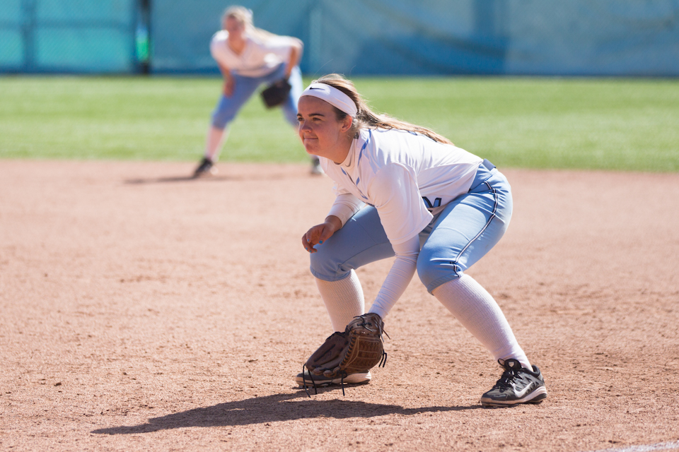 Softball swept by Harvard, undefeated Dartmouth - Columbia