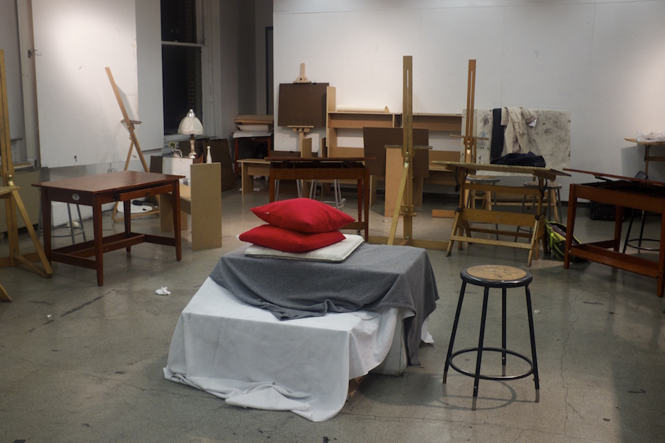Night at the Figure Drawing Class - Columbia Daily Spectator