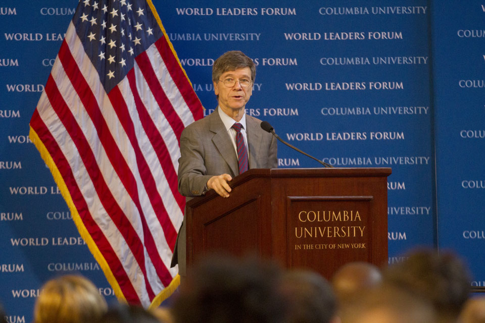 Image result for photos of  Jeffrey Sachs from Columbia