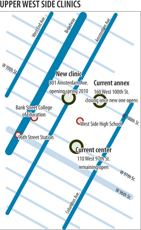 Ryan Center Health Clinic Expands On Upper West Side