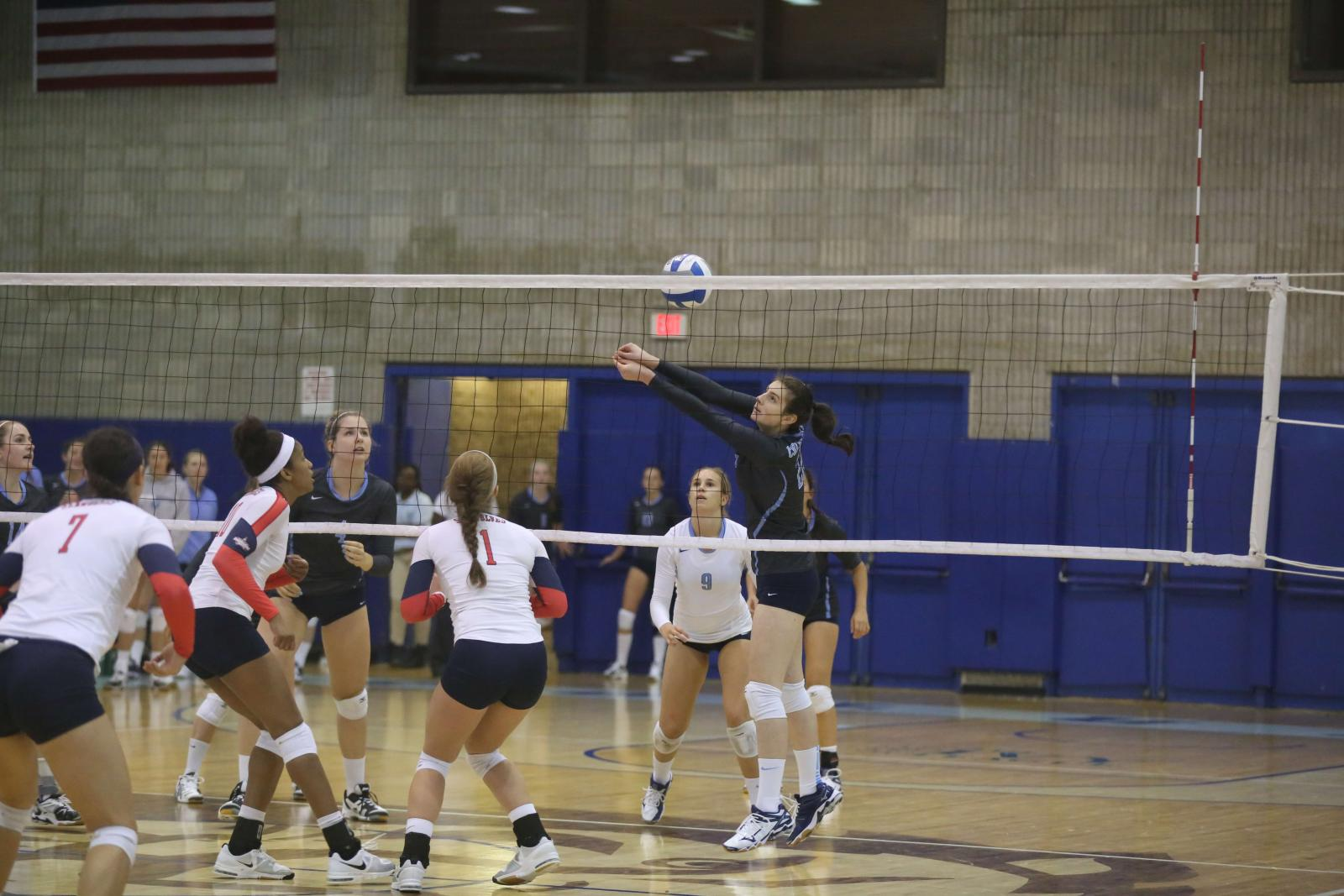 Volleyball Sweeps Columbia Invitational Columbia Daily Spectator