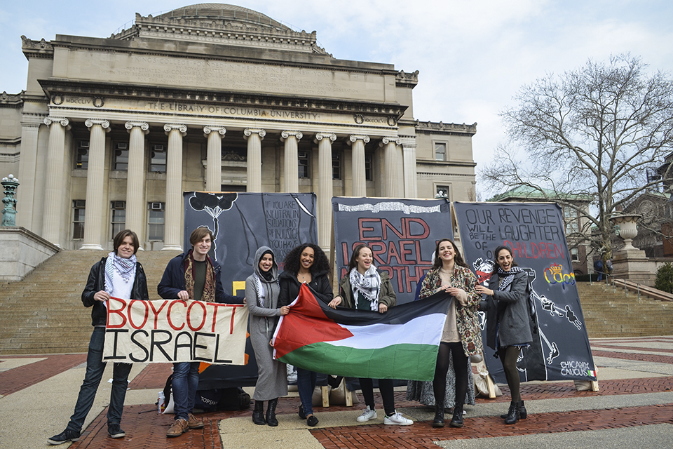 40 faculty sign petition in solidarity with columbia university